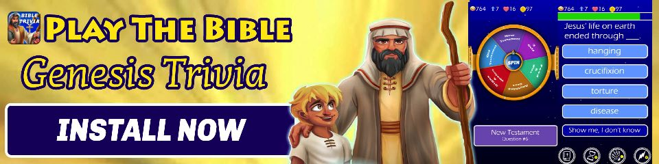 Play The Bible - Trivia Genesis