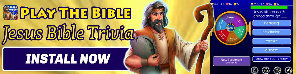 Play The Bible - Trivia Challange