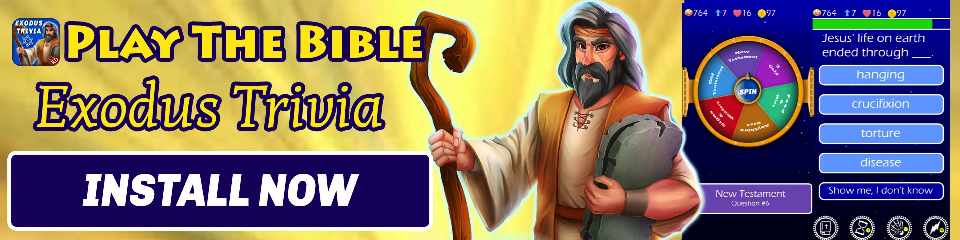 Play The Bible - Trivia Exodus